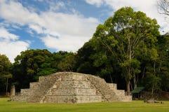 Mayan ruïnes van Copan in Honduras Stock Foto