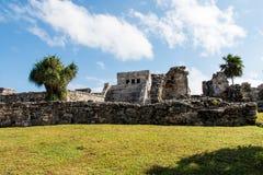Mayan ruïnes van Tulum Royalty-vrije Stock Afbeelding