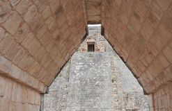 Mayan Ruïnes in Yucatan, Mexico Royalty-vrije Stock Foto's