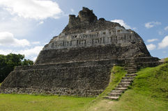 Mayan Ruin. Xunantunich in Belize Stock Photography