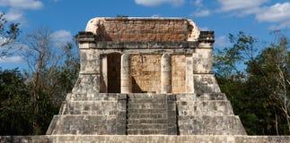 Mayan Ruin at Chichen Itza Royalty Free Stock Photos