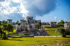 Mayan Ruin Royalty Free Stock Photography