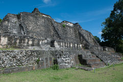 Mayan Ruin - Xunantunich in Belize Royalty Free Stock Photo