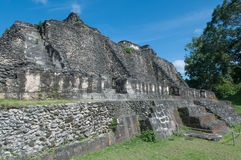 Mayan Ruin Xunantunich Royalty Free Stock Photos