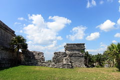 Mayan Ruins. Of Tulum in main land Mexico Stock Photography