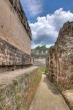 Mayan Ruins. The Mayan Ruins of Tikal in Belize stock image