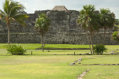 Mayan Ruins. Royalty Free Stock Images
