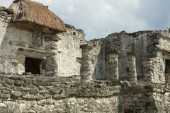 Mayan Ruins. Royalty Free Stock Photography