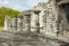 Mayan Ruins. Royalty Free Stock Photo