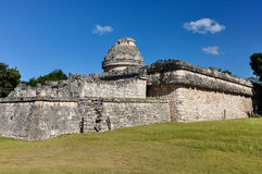 Mayan ruins - astronomical observatory Royalty Free Stock Photo