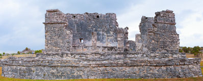 Mayan ruins in Cancun, Mexico Royalty Free Stock Photos