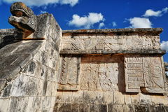 Mayan ruins in Chichen-Itza, Mexico Stock Photo