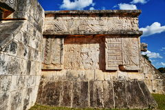 Mayan ruins in Chichen-Itza, Mexico Royalty Free Stock Photo