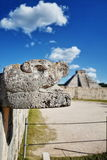 Mayan ruins in Chichen-Itza, Mexico Royalty Free Stock Photography