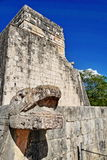 Mayan ruins in Chichen-Itza, Mexico Royalty Free Stock Photos