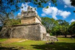 Mayan ruins at Chichen Itza - Yucatan, Mexico Royalty Free Stock Photos