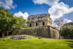 Mayan ruins at Chichen Itza - Yucatan, Mexico Stock Image