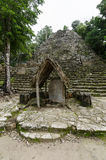 Mayan ruins at coba,cancun,mexico Stock Photo
