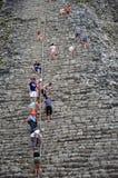 Mayan ruins in Coba, Mexico Stock Image