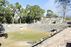 The Mayan ruins of Copan Stock Photos