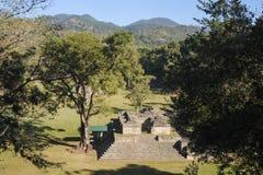 The Mayan ruins of Copan Stock Photos