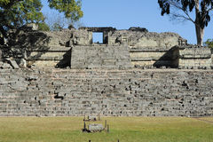 The Mayan ruins of Copan Royalty Free Stock Photos