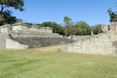 The Mayan ruins of Copan Stock Images