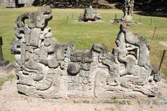 The Mayan ruins of Copan Royalty Free Stock Images