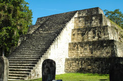 Mayan ruins in Guatemala Stock Photos