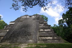 Mayan ruins in Guatemala Stock Photo