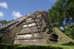 Mayan ruins in Guatemala Royalty Free Stock Image