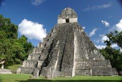 Mayan ruins in Guatemala Stock Photography