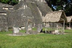 Mayan ruins in Guatemala Stock Photos