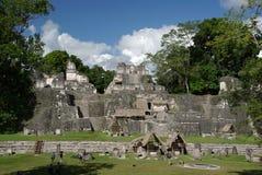 Mayan ruins in Guatemala Stock Photo