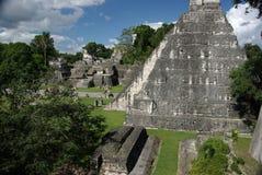 Mayan ruins in Guatemala Royalty Free Stock Photography