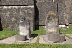 Mayan ruins in Guatemala Royalty Free Stock Photo