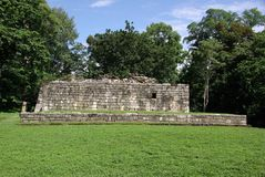 Mayan ruins in Guatemala Royalty Free Stock Photography