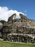 Mayan ruins_Kohunlich arch Stock Photo