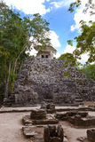 Mayan Ruins in Mexico Royalty Free Stock Photos