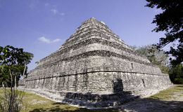 Mayan Ruins near Costa Maya Mexico Royalty Free Stock Photo