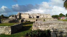 Mayan Ruins of Quintana Roo stock image