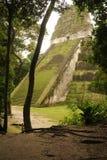 The Mayan ruins of Tikal Stock Photo