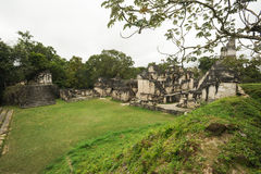 The Mayan ruins of Tikal Stock Photography