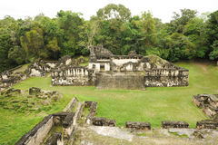 The Mayan ruins of Tikal Stock Photo