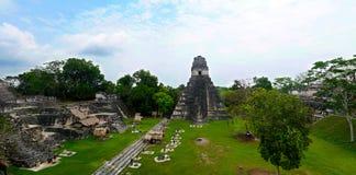 Tikal, Capital of Maya Mayan Civilization in Guatemala stock photo