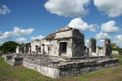 Mayan Ruins. Tulum Royalty Free Stock Photography