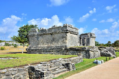 Mayan ruins - Tulum Stock Photography