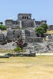 Mayan Ruins, Tulum. Tulum maya ruins, Quintana Roo, southern Mexico royalty free stock images