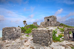 Mayan ruins in Tulum, Mexico Stock Image