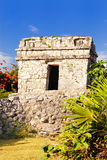 Mayan ruins of Tulum Mexico Royalty Free Stock Photography
